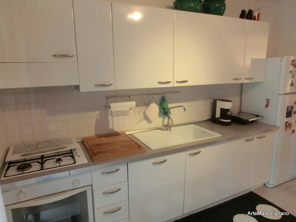 Wohnung Vierzimmerwohnung Bis Lignano Pineta Villa Palma