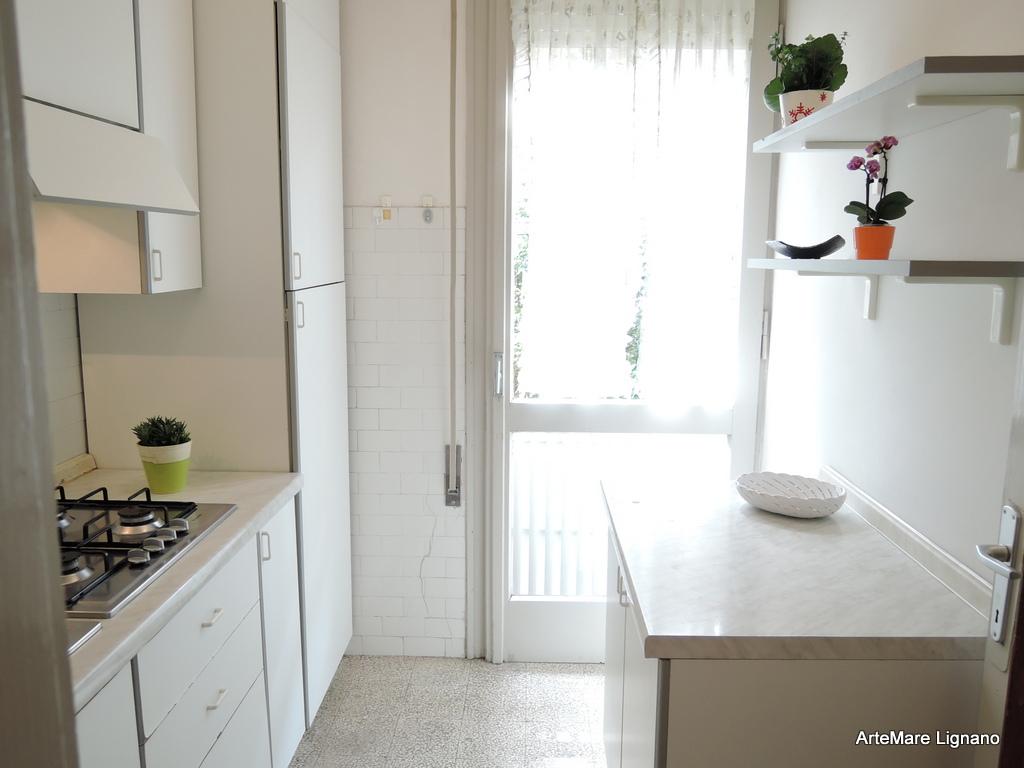 Wohnung Vierzimmerwohnung Bis Lignano Pineta Villa C Marina