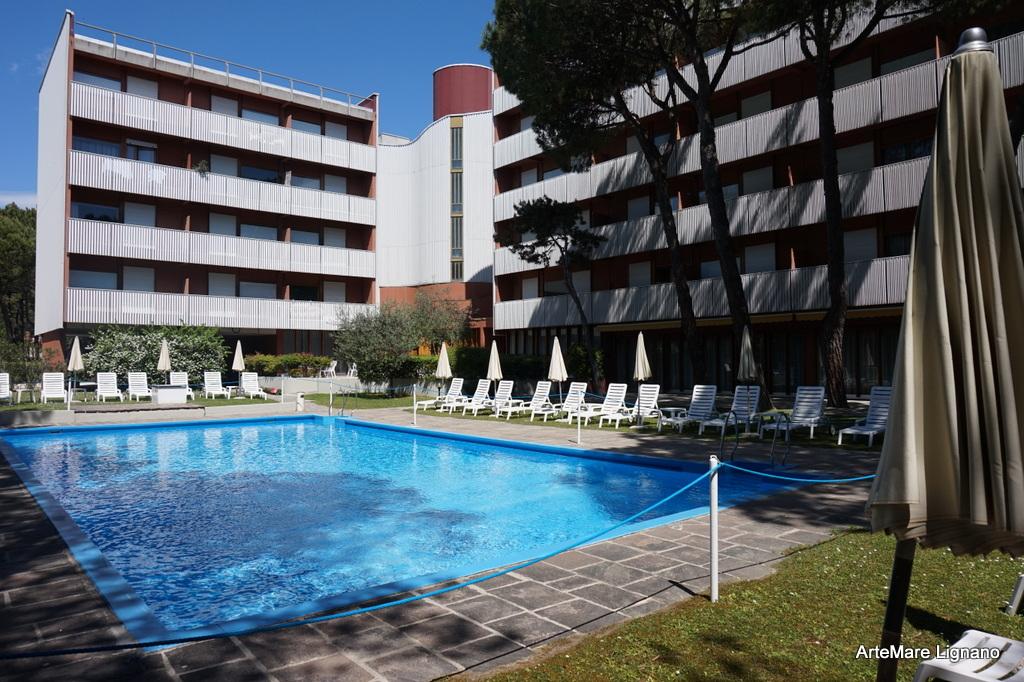 Wohnung einzimmerwohnung bis lignano pineta euroresidence for Bagno 7 bis lignano pineta